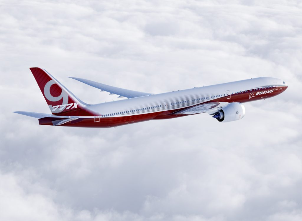 NEW JOBS: The production of wing and empennage parts for Boeing's 777x next-generation commercial aircraft is expected to bring 700 new jobs to the St. Louis area. The work is expected to create between 350-to-450 new machinists jobs by 2017. – Boeing photo