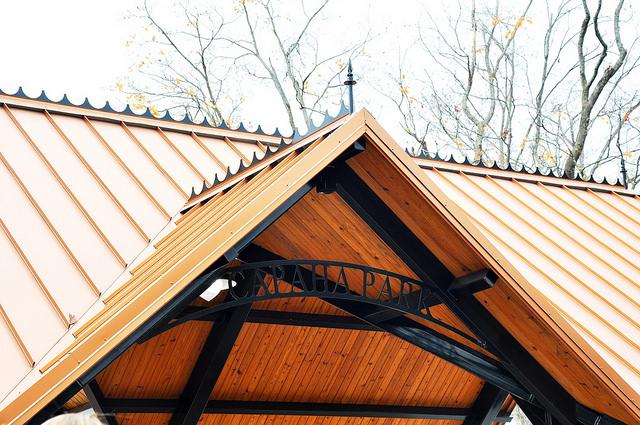 Pavilion roof