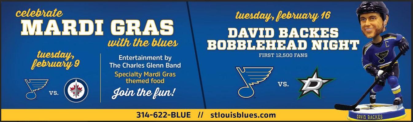 Blues Mardi Gras