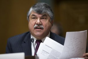 AFL-CIO PRESIDENT RICHARD TRUMKA said in an email to members of the AFL-CIO executive council last week that the body won't be holding a vote on whether to endorse Democratic presidential candidates Hillary Clinton or Bernie Sanders at this week's annual winter meeting in San Diego.