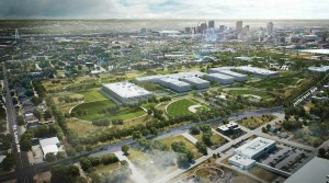 NGA West site artists rendering