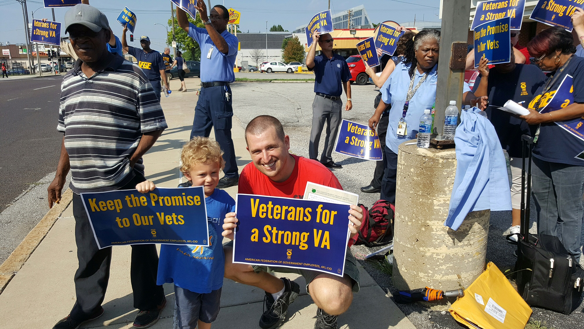Image result for IMAGES veteranS rallies for VA