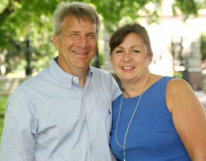 """TARGETED: Apparently unhappy that worker-friendly House District 112 candidate Robert """"Bob"""" Butler (shown here with his wife Mirium) let the cat out of the bag that he owes nearly $5,800 in business taxes, Rep. Rob Vescovo retaliated against Butler by filing a Sunshine request for his wife's work emails."""