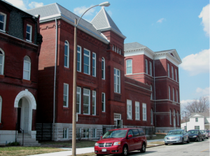 SUCCESS STORY: One of the Regional Union Construction Center's success stories is BAM Contracting, owned by Brian Murphy and active in many of St. Louis' building and redevelopment projects. BAM Contracting participated in the redevelopment of Irving School into apartments shown here.