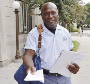 DELIVERING HEROISM: Letter carrier Michael Murphy was honored by the National Association of Letter Carriers in Washington, D.C., as 2016 Central Region Hero of the Year for his actions preventing a 2014 carjacking.